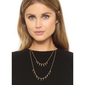 rebecca minkoff // layered fringe necklace